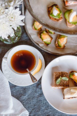 afternoon tea snacks en thee